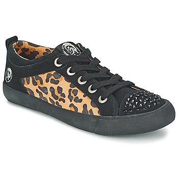 Skor Dam Sneakers Diesel LEOPAR Svart