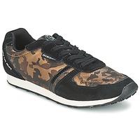 Skor Dam Sneakers Diesel CAMOUFLAGE Brun