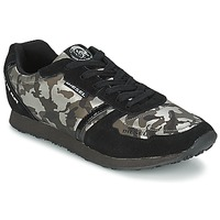 Skor Dam Sneakers Diesel CAMOUFLAGE Svart