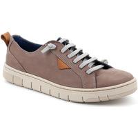 Skor Herr Sneakers Grunland SC5190 Brun