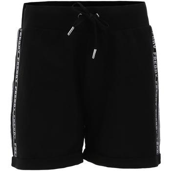 textil Dam Shorts / Bermudas Freddy S1WCLP3 Svart