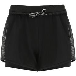 textil Dam Shorts / Bermudas Freddy S1WTBP7 Svart