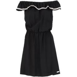 textil Dam Korta klänningar Café Noir JA6090 Svart