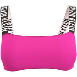 textil Dam Sport-BH Calvin Klein Jeans KW0KW01228 Rosa