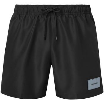textil Herr Badbyxor och badkläder Calvin Klein Jeans KM0KM00574 Svart