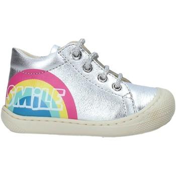 Skor Barn Sneakers Naturino 2015797 02 Silver