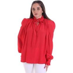 textil Dam Blusar Cristinaeffe 0138 2291 Röd