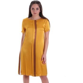 textil Dam Korta klänningar Café Noir JA6260 Gul