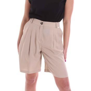 textil Dam Shorts / Bermudas Café Noir JP6030 Beige