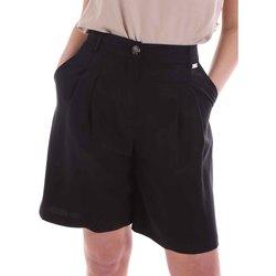 textil Dam Shorts / Bermudas Café Noir JP6030 Svart