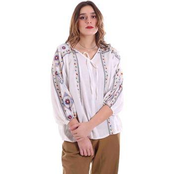 textil Dam Blusar Alessia Santi 011SD45039 Vit