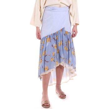 textil Dam Kjolar Alessia Santi 011SD75003 Blå