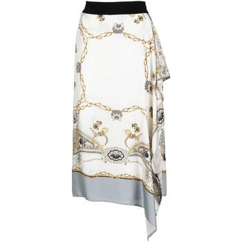 textil Dam Kjolar Café Noir JO6080 Vit