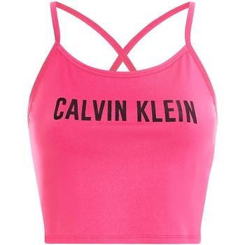 textil Dam Sport-BH Calvin Klein Jeans 00GWS1K163 Rosa
