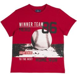 textil Barn T-shirts Chicco 09067134000000 Röd