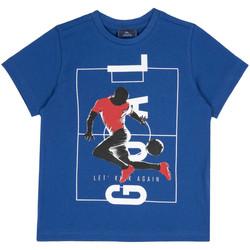 textil Barn T-shirts Chicco 09067134000000 Blå