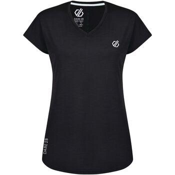 textil Dam T-shirts & Pikétröjor Dare 2b  Svart