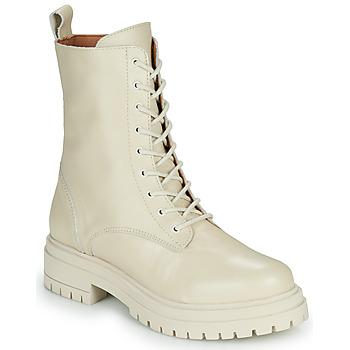 Skor Dam Boots Sweet Lemon NIZI Beige