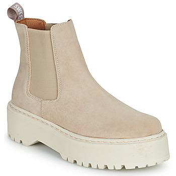 Skor Dam Boots Sweet Lemon NYMA Beige