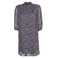 textil Dam Korta klänningar Ikks SHALLOW Marin