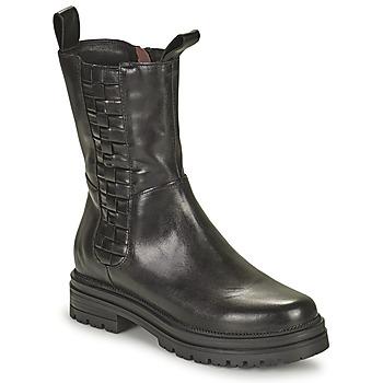 Skor Dam Boots Mjus DOBLE SQUARE Svart