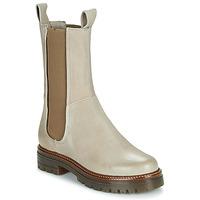 Skor Dam Boots Mjus DOBLE CHELS Beige