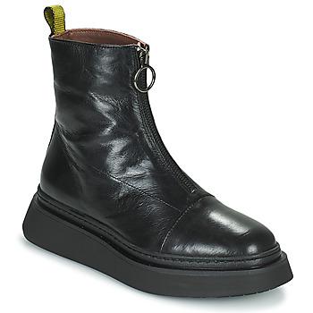 Skor Dam Boots Mjus BASE ZIP Svart