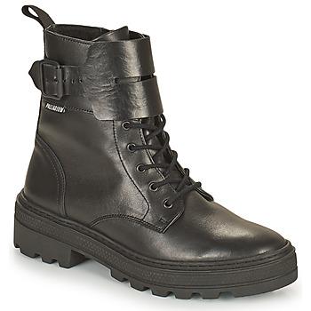 Skor Dam Boots Palladium Manufacture CULT 03 NAP Svart