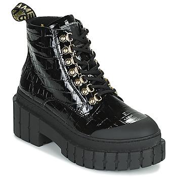 Skor Dam Boots No Name KROSS LOW BOOTS Svart