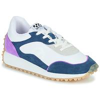 Skor Dam Sneakers No Name PUNKY JOGGER Vit / Blå