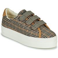 Skor Dam Sneakers No Name PLATO M STRAPS Svart