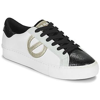 Skor Dam Sneakers No Name ARCADE SIDE Vit / Svart