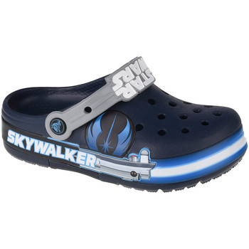 Skor Barn Träskor Crocs Fun Lab Luke Skywalker Lights K Clog Bleu marine
