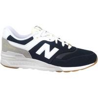 Skor Pojkar Sneakers New Balance 997 Vit, Svarta