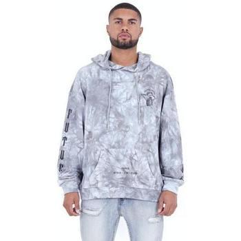 textil Herr Sweatshirts Sixth June Sweatshirt  Custom Tie Dye gris anthracite/rose hibiscus