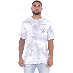 textil Herr T-shirts Sixth June T-shirt  Custom Tie Dye blanc/rose