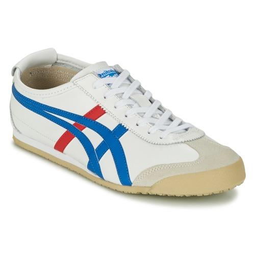 Skor Sneakers Onitsuka Tiger MEXICO 66 Vit / Blå / Röd