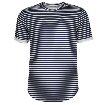 textil Herr T-shirts Yurban ORICO Marin / Vit