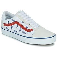 Skor Sneakers Vans OLD SKOOL Vit / Blå
