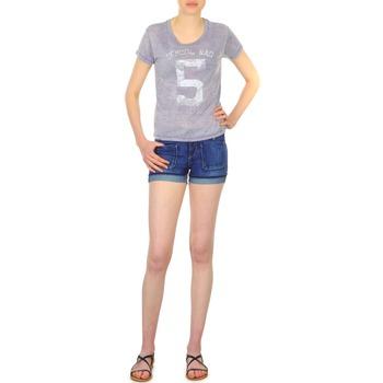 textil Dam Shorts / Bermudas School Rag SAILOR COMFORT Blå