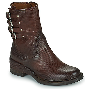 Skor Dam Boots Airstep / A.S.98 MIRACLE BUCKLE Bordeaux