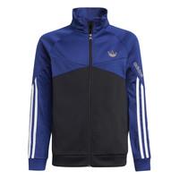 textil Barn Sweatjackets adidas Originals SENTIRA Svart / Marin