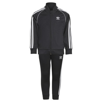 textil Barn Sportoverall adidas Originals RISUER Svart