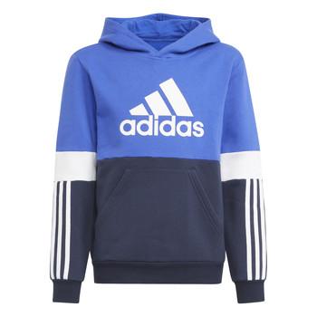 textil Pojkar Sweatshirts adidas Performance NADJET Marin / Svart