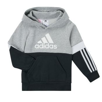 textil Pojkar Sweatshirts adidas Performance CRAKA Grå / Svart
