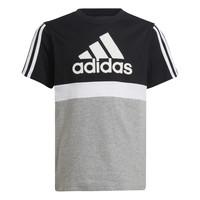 textil Pojkar T-shirts adidas Performance MOULITA Grå / Svart