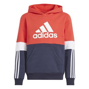 textil Pojkar Sweatshirts adidas Performance SOLEDAD Röd / Marin