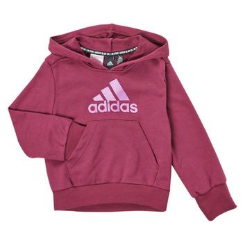 textil Flickor Sweatshirts adidas Performance MARINE Rosa