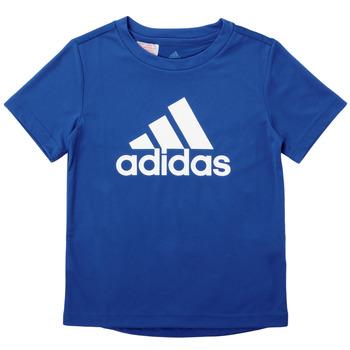 textil Pojkar T-shirts adidas Performance CLAUDIA Blå