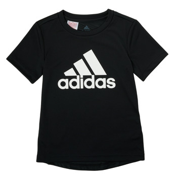textil Pojkar T-shirts adidas Performance NADGED Svart